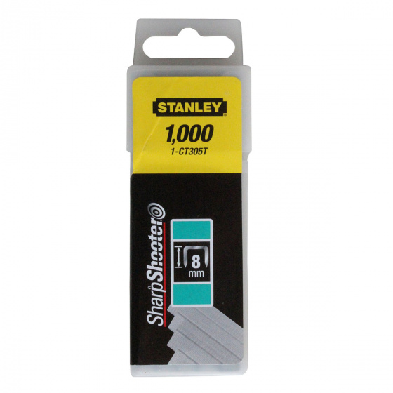 Stanley Flat Staples 8mm | 1-CT305T