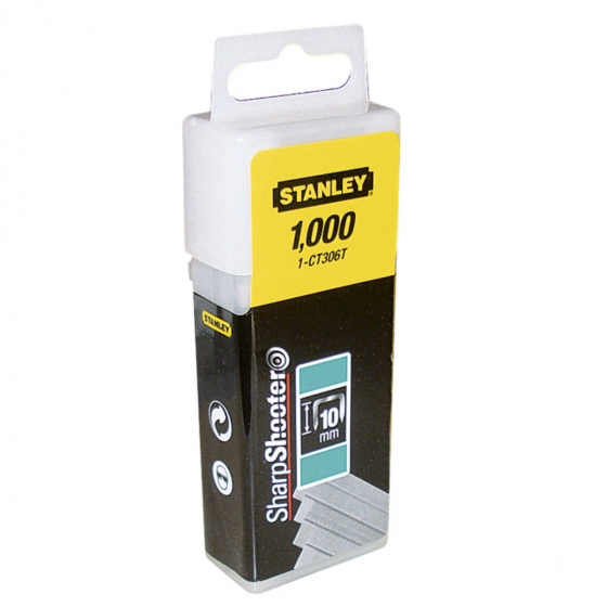 Stanley Flat Staples 10mm | 1-CT306T