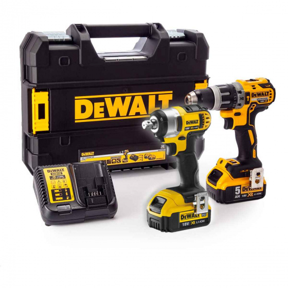 DEWALT 18V Impact Drill and Impact Wrench Kit