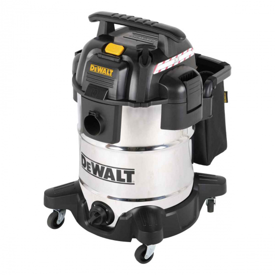 DEWALT Portable 38L Stainless Steel Wet Dry Vacuum Cleaner | DXV38SPTA