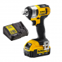 DEWALT 18V Impact Wrench Kit with 4AH Battery| DCF880M1
